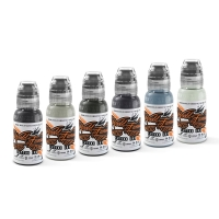 World Famous Ink - Poch's Muted Storms - 30 ml / 1 oz