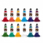 World Famous Ink - Primary Colour Set #3 -  30 ml / 1 oz